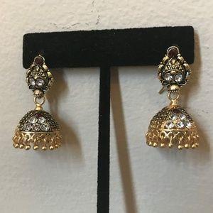 Jewelry - Jhumka Pakistani Tradition Fancy Earrings Jhumki